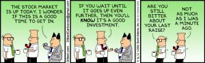 Dilbert - stock market