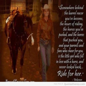 Cowgirl And Horse Quotes
