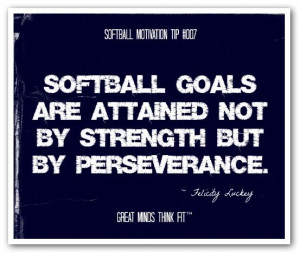 Softball #posters with #quotes