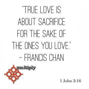 True Love Sacrifice Picture Quotes
