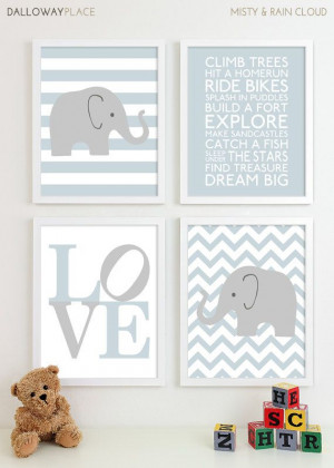 ... Room, Baby Nursery Decor Playroom Rules Quote Art – Four 11×14. $60