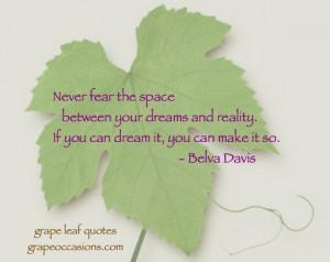 Grape Leaf Quote: Articles