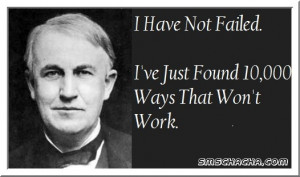 The Really Great Saying By Thomas Alva Edison That Motivates Each And ...