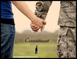 Military Wife's Promise
