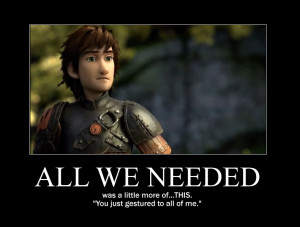 HTTYD2 - Hiccup Motivational by CookieGodess1920