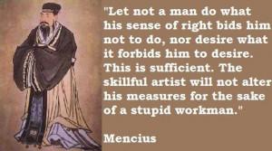 Mencius famous quotes 4