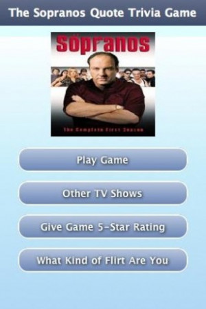 View bigger - The Sopranos Quote Trivia Game for Android screenshot