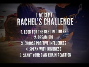 ... Strongsville residents invited to 'Rachel's Challenge' community event