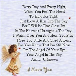 ... , For I Will Be That Close By In The Heaven Throughout - Angel Quotes
