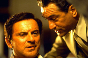 Singer Robbie Williams and neighbor Joe Pesci got into an argument ...