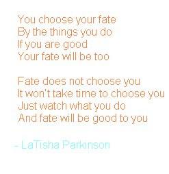 Fate Poem