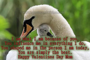 Happy valentines day mother 2 Happy Valentines Day quotes for Mother ...