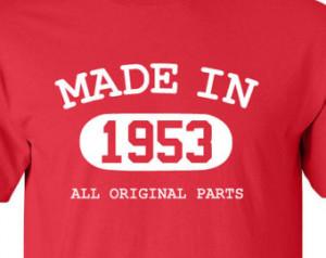 ... Birthday Gift Funny Shirt Custom Personalized Birthday Present Turning