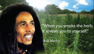 Weed Quote Wednesday: Bob Marley