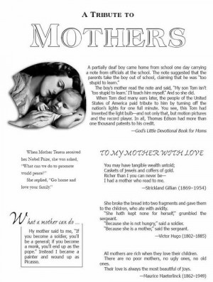 Wallpaper on Mother's Day : A tribute to Mothers … Mothers ...