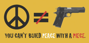 "School Violence: ""You Can't Build Peace With a Piece"""