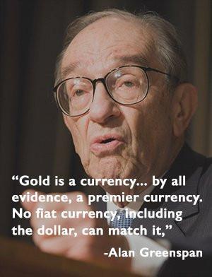 Alan Greenspan on Gold