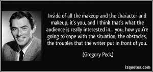 More Gregory Peck Quotes