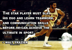 The star player must slay his ego and learn teamwork and communication ...