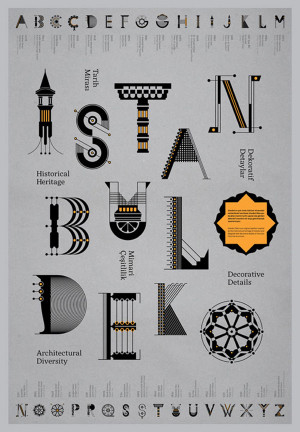Istanbul type design by Geray Gencer