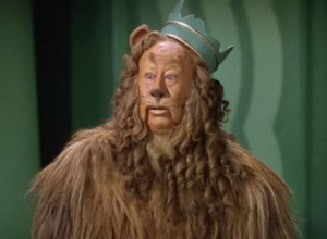 Wizard Of Oz Lion Courage Cowardly Lion