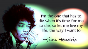 Jimi Hendrix Tumblr Quotes