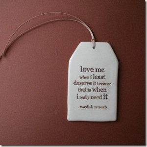 Word of love quotes