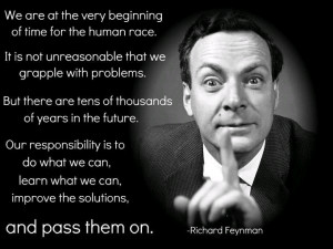 "of Quantum Aroma Dynamics (QAD), which ""Hey, Sagan Richard P Feynman ..."