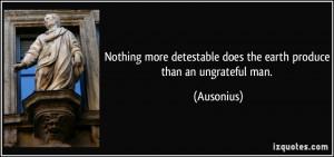 Ungrateful Quotes For Facebook