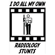 Radiology Stunts Poster