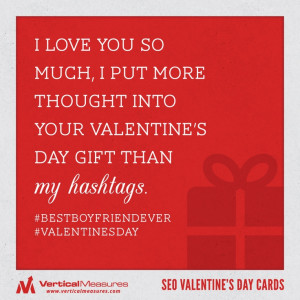 Funny Valentine's Day #hashtags