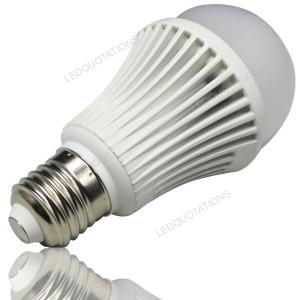 Energy Saving AC 85-265V Aluminum Shell E27 9x1W 9W LED Light Lamp ...
