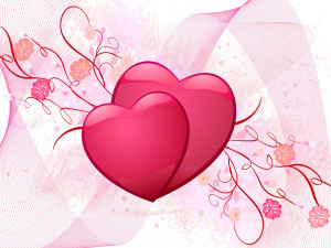love you Picture of Hearts for Valentines day 2014