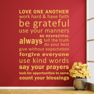 ... - Vinyl inspirational Quotes Wall Murals Word Sayings 34