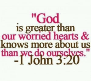 God knows everything and more... :D