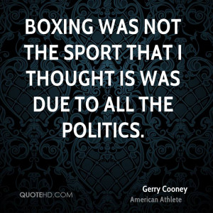 Gerry Cooney Quotes