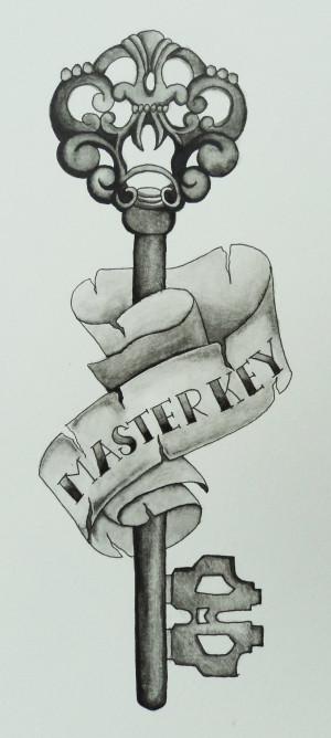 master key' tattoo by jen2092