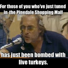 Classic bit from WKRP More