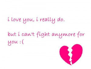 broken heart, cute, girl, heart, i love you, love, pink, quotes, text ...