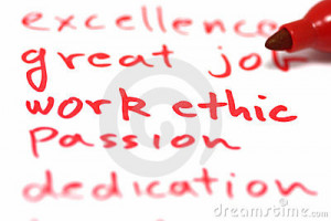 wikipedia defines work ethic as a set of values based on hard work and ...