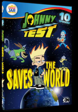 Johnny Test - Johnny Saves the World! - 10 Episode Set