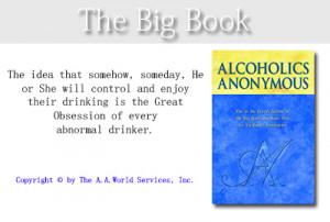 big book quotes