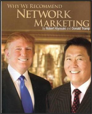 Robert Kiyosaki, Bill Gates and Donald Trump all describe Network ...