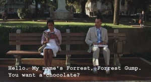 funny quotes from forrest gump