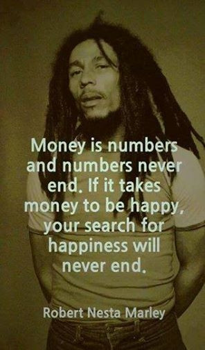 Bob Marley quote on money, Bob Marley quote, quote on money, money ...