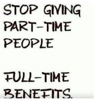 Part time people