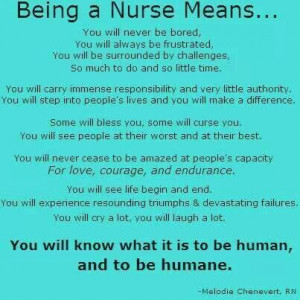 The Meaning of a Nurse