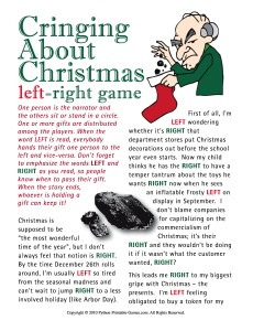 Funny Christmas Sayings and Provocative, Helpful Christmas Thoughts