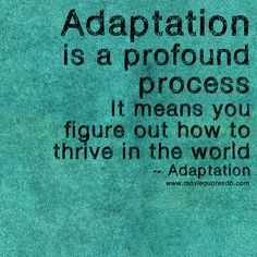 Adaptation Quotes Sayings ~ Movie related Quotes & Stuffs on Pinterest ...