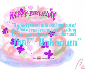 Happy Birthday Friend Funny Quotes
